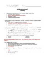 quiz 2 ch 6 7 answer key monday march 10 2008