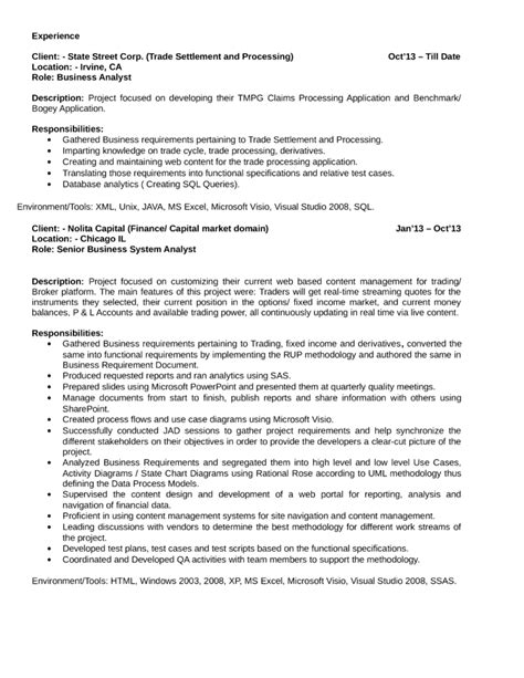 best quantitative analyst resume template page 2