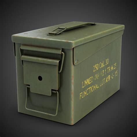 Hugo Army Ori Non Box 3dsmax ammo m2a1