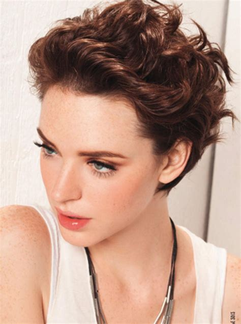 hairstyles for short hair wavy womens haircuts for short curly hair best hairstyles 2017
