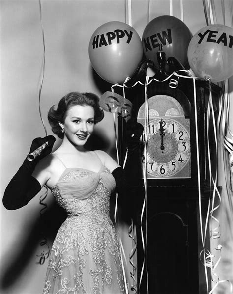 new year 1952 piper laurie 1952 photograph by everett