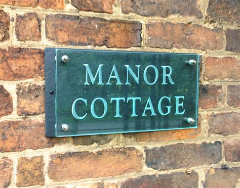 Cottage Name Signs by House Number Plaques House Name Plaques