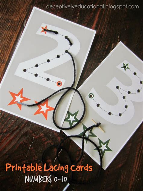 Free Lacing Cards Printables relentlessly deceptively educational printable