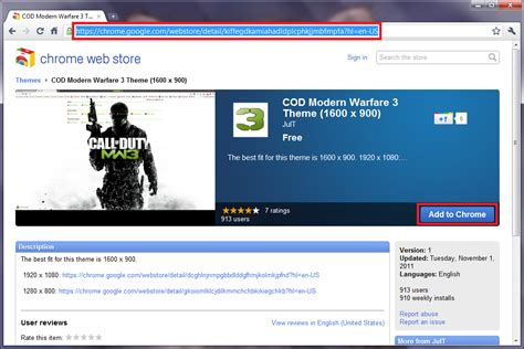 install themes for google chrome call of duty modern warfare 3 theme for google chrome i