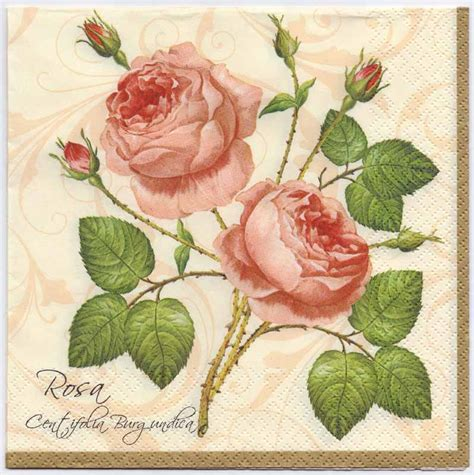 decoupage paper australia decoupage paper napkins of botanical print of 2 pink roses