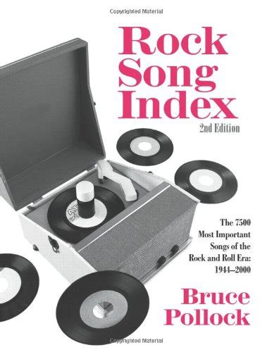 Read Online Rock Song Index The 7500 Most Important