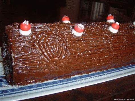 tronco de chocolate tronco nevado de navidad la cocina de bender