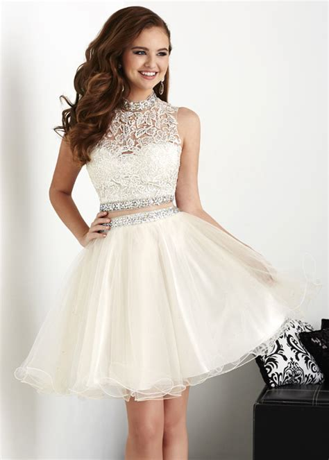 prom dresses on pinterest lace gowns prom and sequin dress short prom dress nude 2 pieces dress party 2 pieces