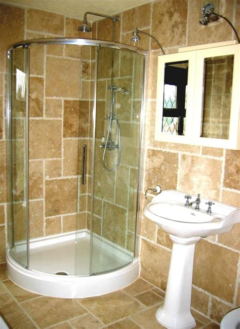 Small Bathroom Ideas With Shower with Ideas For Small Bathrooms With Shower Stall Home Design Ideas