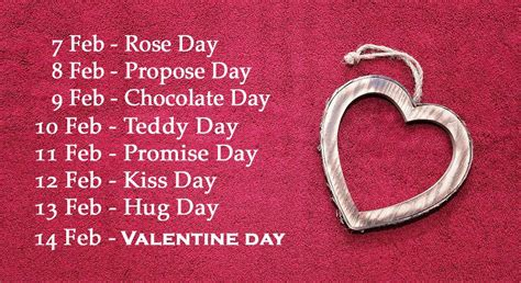Calendar 2018 Valentines Day Week List 2018 Day Date Sheet 2018