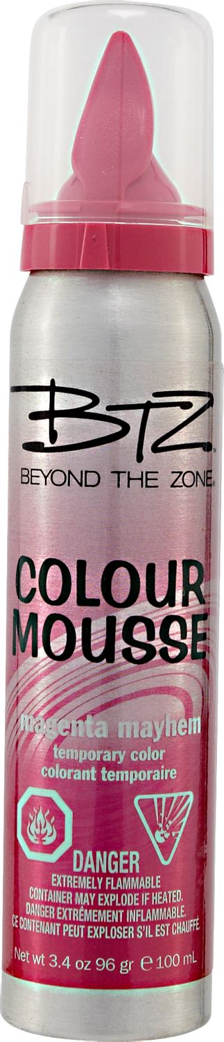 beyond the zone color mousse beyond the zone colour mousse magenta