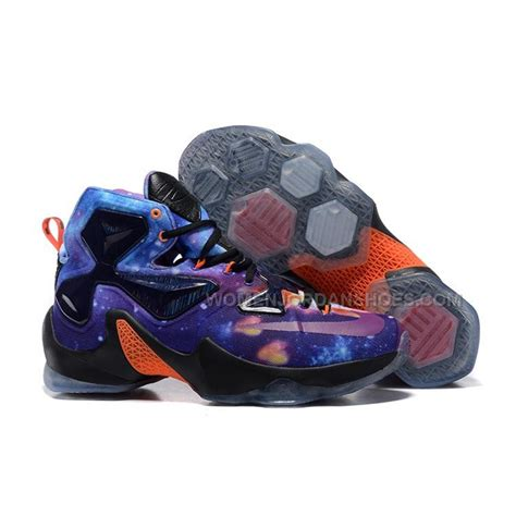 galaxy basketball shoes cheap nike lebron 13 galaxy multi color basketball shoes