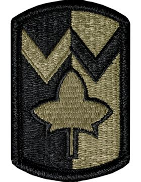 operational camouflage pattern unit patches ocp unit patch 4th sustainment brigade with fastener