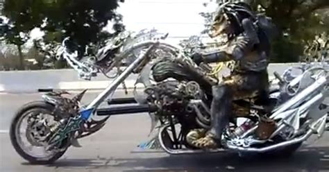 Predator Motorrad by So This Is What Predator Does On His Day Off Extra