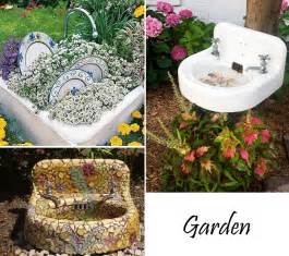 garden sink ideas recycling amp repurposing old bathtubs and sinks furnish