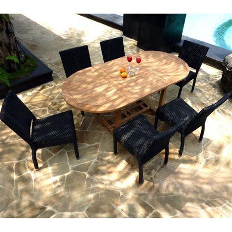 porte exterieur jardin 3085 id 233 al pour cet 233 t 233 salon table ovale extensible en teck