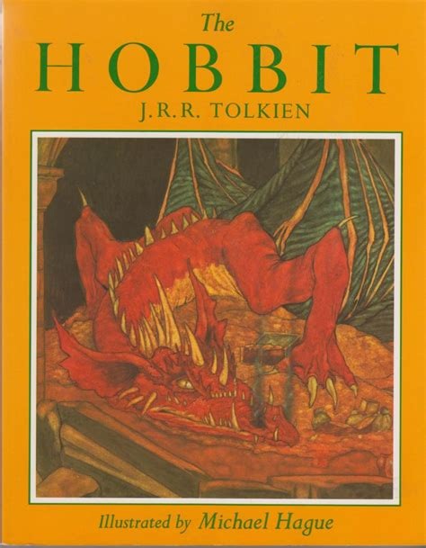 the hobbit picture book the hobbit ill michael hague hb 1878 hobbithunter