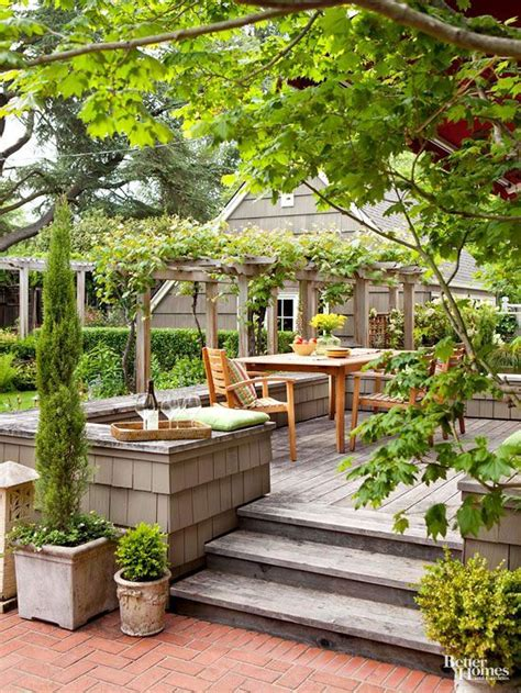 better homes and gardens backyards 1000 images about pretty patios porches pergolas on