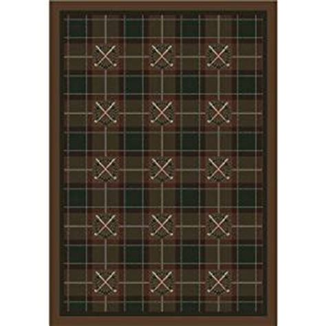 Golf Area Rugs Milliken Activity Country Clubs All Golf Novelty Rug 10 9 Quot X 13 Kitchen Dining