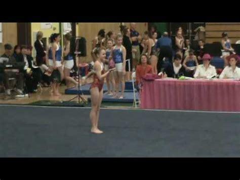 10 0 Level 4 Floor Routine by Level 4 Gymnastics Floor Routine Vidoemo Emotional