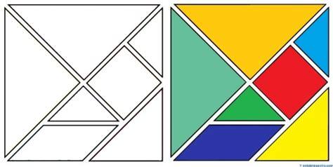 figuras geometricas que forman el tangram tangram figuras para imprimir online
