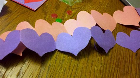 How To Make Paper Chain - paper chain tutorial just in time for valentine s