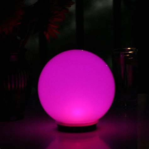 color changing solar lights globe solar magic globe with color changing solar light