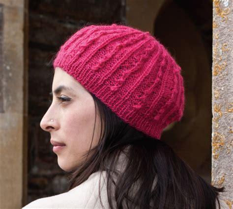 knitting pattern beret raspberry beret free knitting pattern craftfoxes