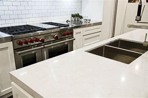 Gray Caesarstone Kitchen by Kastell Kitchens 5000 Grey Caesarstone Kitchens