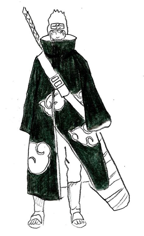 doodle wiki how how to draw kisame 8 steps with pictures wikihow