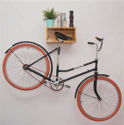 Wood Wall Bike Rack by Put Your Bike On Display With These Wall Mounted Bike