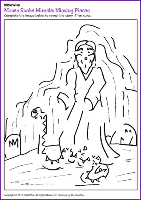bronze snake coloring page moses and the bronze snake coloring pages coloring pages