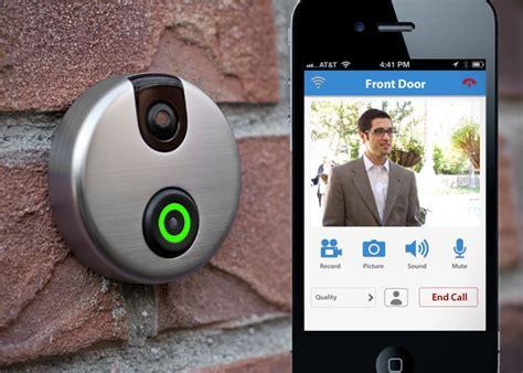 Idoorcam Wi Fi Camera Doorbell Hiconsumption Front Door Cameras