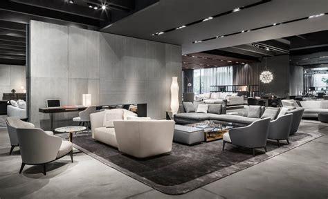the look store milan tv milan furniture design news introducing new minotti 2015