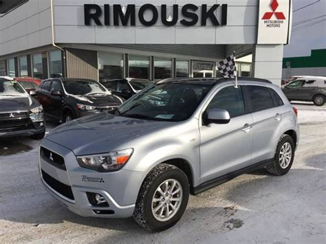 mitsubishi rvr 2012 2012 mitsubishi rvr gt rimouski used car for