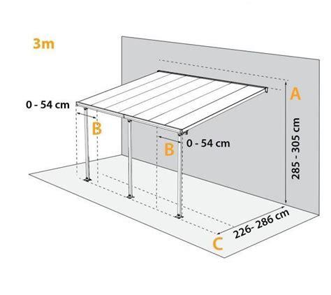 anbau genehmigungsfrei anlehn carport 300x305 cm wei 223