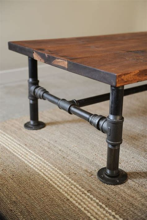 Diy Wood And Metal Coffee Table Diy Industrial Coffee Table Totally Green Crafts