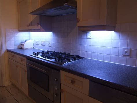 led lights kitchen cabinets how to fit led kitchen lights with fade effect