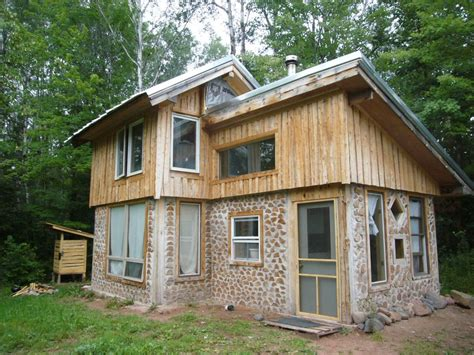 This tiny home was built several years ago using green