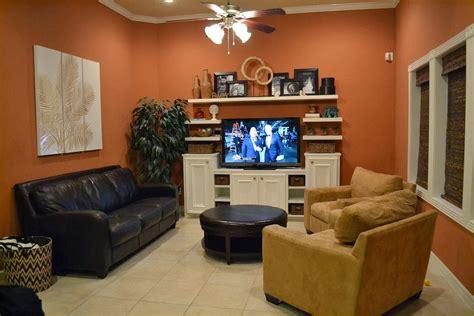 Burnt Orange Living Room by Design Showcase Burnt Orange In The Living Room Schue