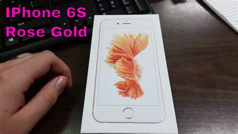 iphone 6s gold unboxing boost mobile hd