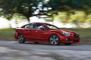 Subaru Imprezza 2017 Subaru Impreza Reviews And Rating Motor Trend