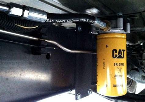 Diesel Fuel For filter housing universal diesel fuel filter housing