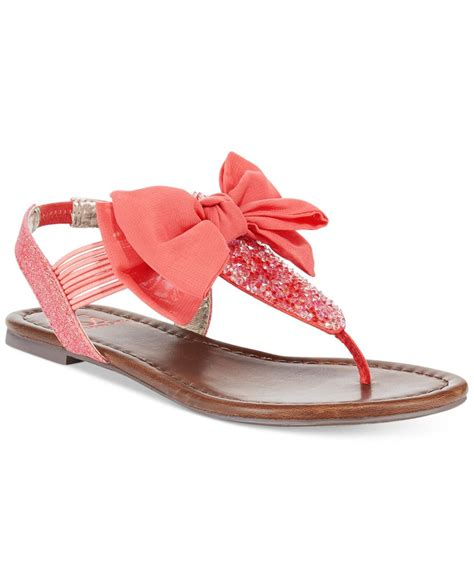 sandals at macy s material swan flat sandals only at macy s in