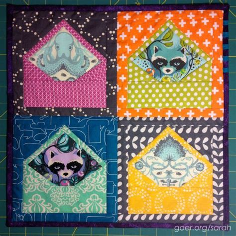 pattern for envelope quilt 25 best ideas about mini quilts on pinterest miniature