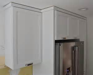 kitchen cabinet crown molding installation modern cabinets