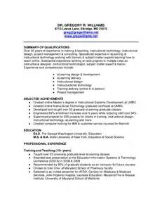 Small Business Owner Resume Sle by Resume Of Greg Williams
