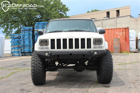 Jeep Xj Bumpers Jcroffroad S New Jeep Xj Front Bumper Line Up Naxja