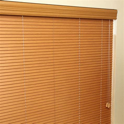 1 quot designer faux wood blinds