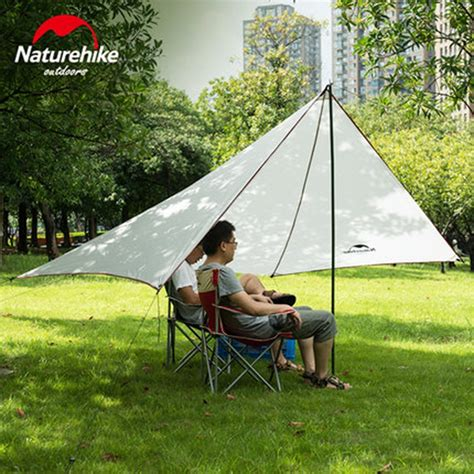 awning tarp naturehike sun shelter waterproof awning canopy tent beach